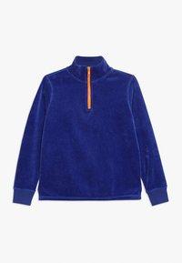 J.CREW - HALF ZIP POPOVER - Sweatshirt - brilliant sapphire - 0
