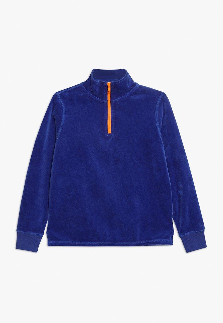 J.CREW - HALF ZIP POPOVER - Sweatshirt - brilliant sapphire