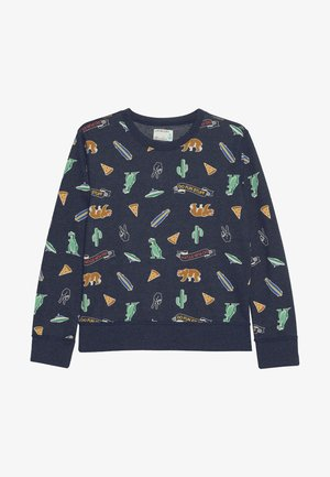 DO FUN STUFF CREWNECK - Sudadera - navy/multicolor