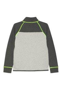 J.CREW - COLORBLOCK POPOVER - Sweatshirt - heather dusk/charcoal - 1