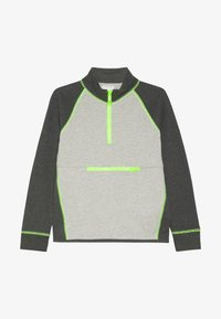 J.CREW - COLORBLOCK POPOVER - Sweatshirt - heather dusk/charcoal - 2