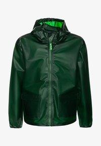 J.CREW - Veste imperméable - rainforest green - 0