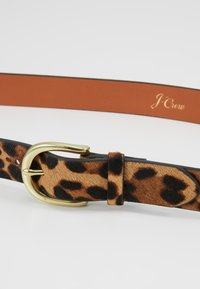J.CREW - NEW MID BELT - Vyö - rich mahogany - 4