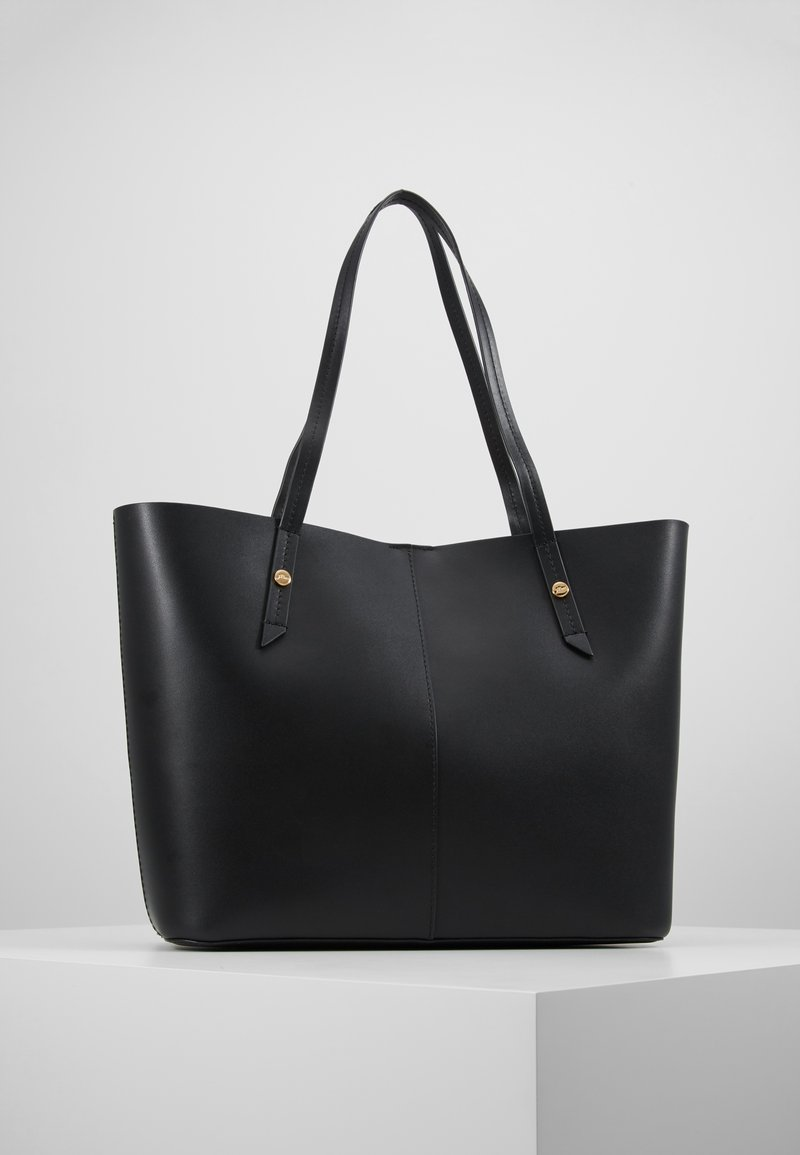 J.CREW - BONDED UNLINED TOTE - Shoppingväska - black