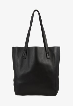 UNLINED NORTH SOUTH TOTE - Håndtasker - black