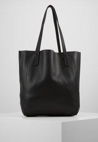 J.CREW - UNLINED NORTH SOUTH TOTE - Handbag - black - 0