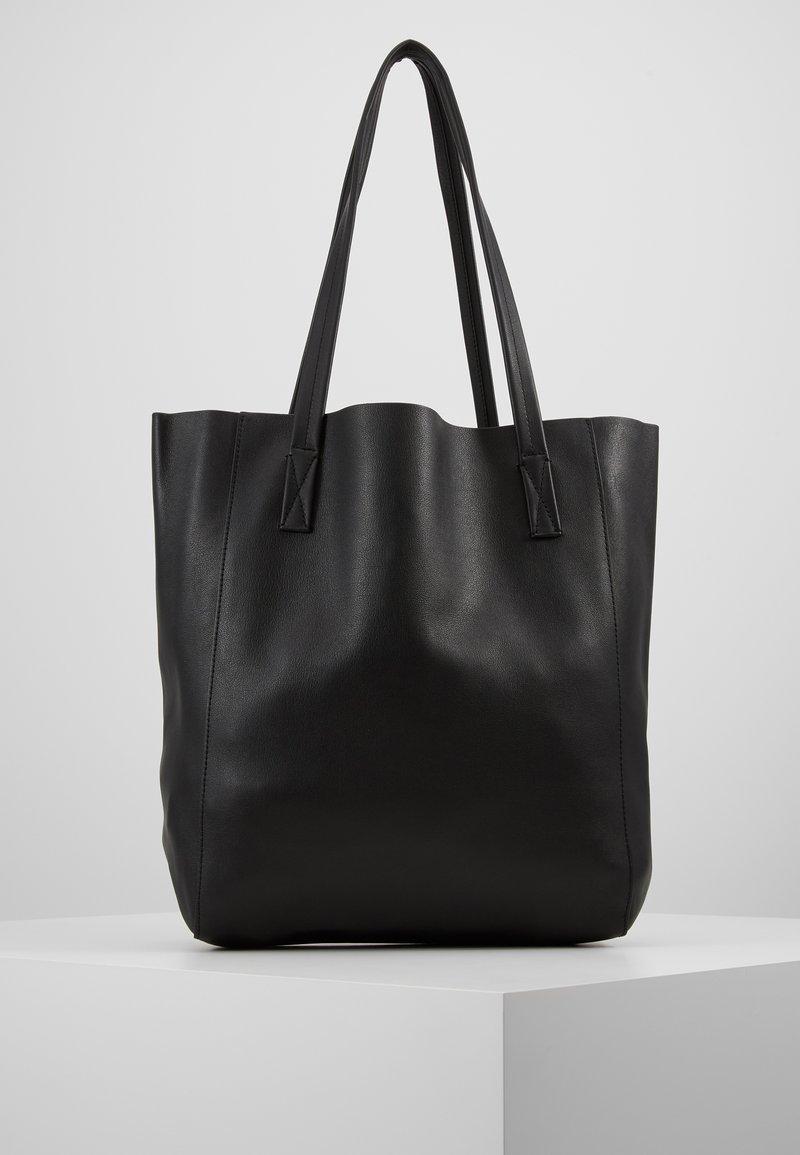 J.CREW - UNLINED NORTH SOUTH TOTE - Handbag - black