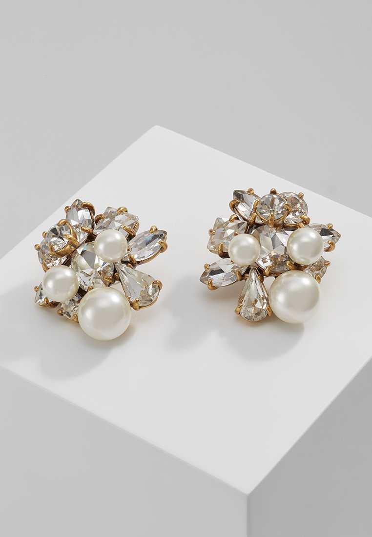 J.CREW - CLUSTER STUD - Earrings - crystal