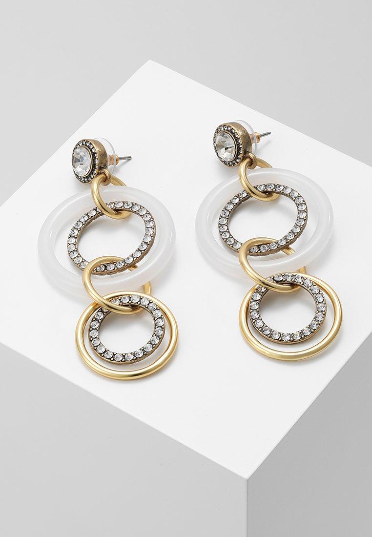J.CREW - CIRCLES EARRINGS - Earrings - crystal