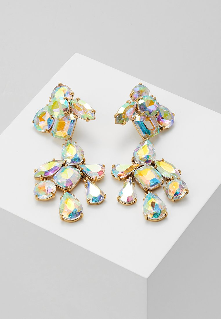 J.CREW - IRENE CLUSTER CHANDELIER - Earrings - crystal