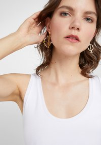 J.CREW - ASSYMETRICAL FISH EARRING - Earrings - multi - 1