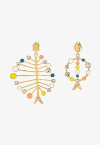 J.CREW - ASSYMETRICAL FISH EARRING - Earrings - multi - 3