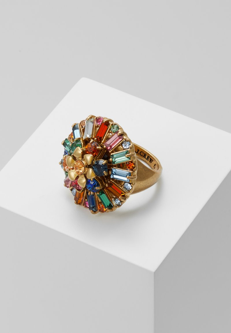 J.CREW - FLOWER RING - Pierścionek - multi