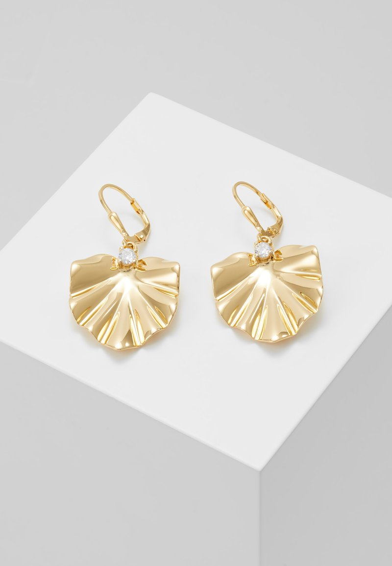 J.CREW - MONSTER SWING EARRING - Pendientes - gold-coloured