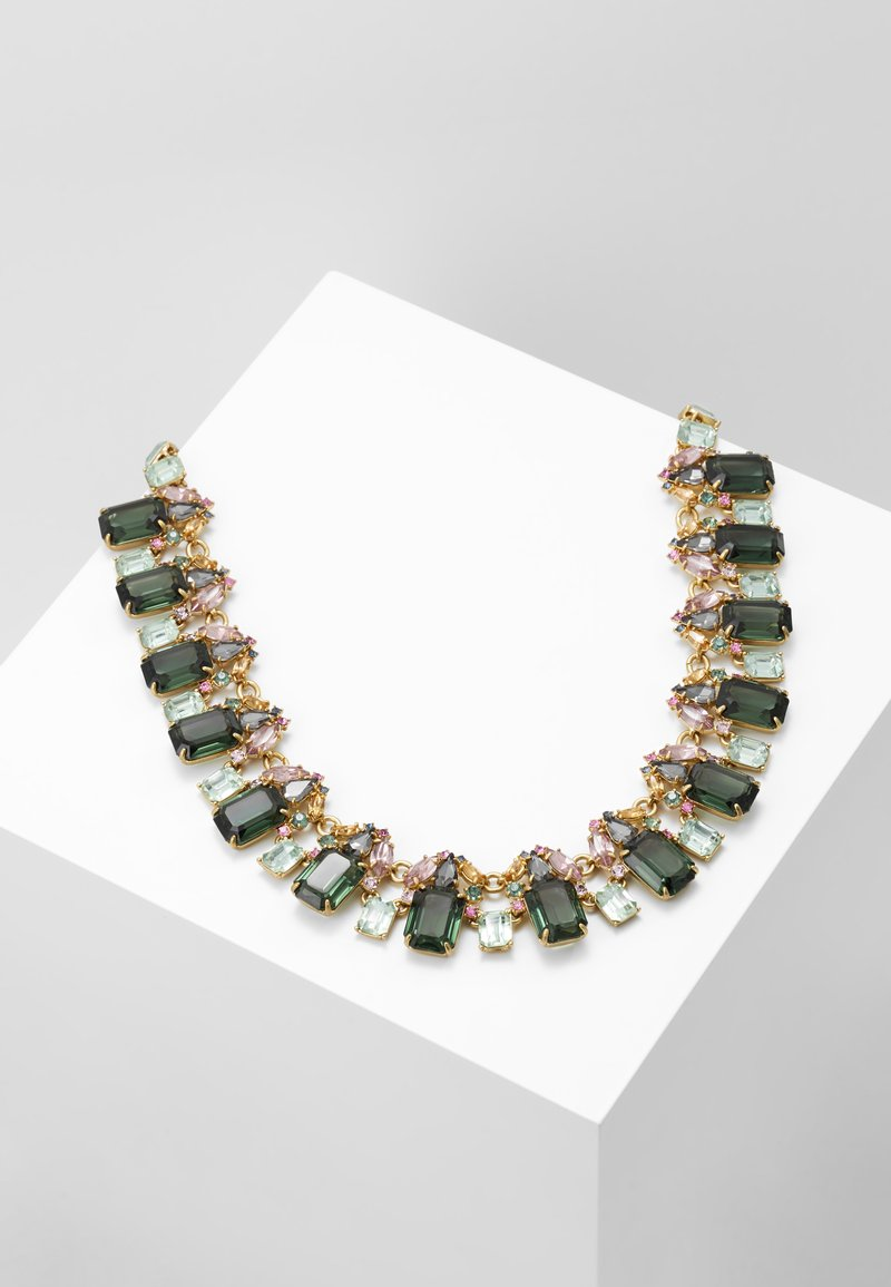 J.CREW - GLASS BEE NECKLACE - Collier - green
