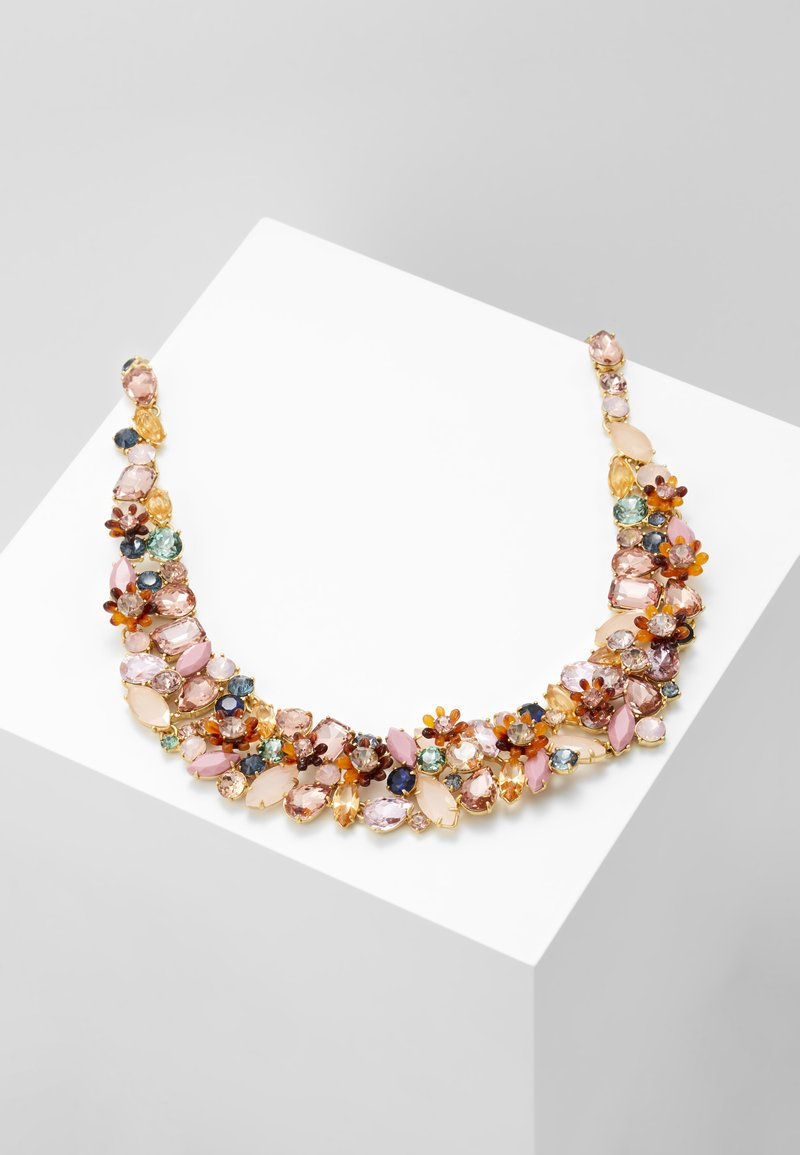 J.CREW - BOTANICAL CLUSTER NECKLACE - Naszyjnik - pale blush