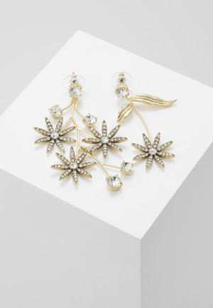 PAVE DAISY EARRINGS - Korvakorut - gold-coloured
