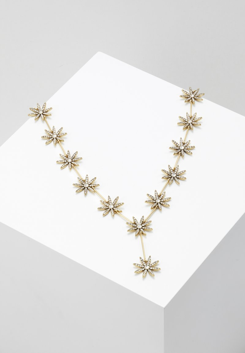 J.CREW - PAVE DAISY NECKLACE - Collier - crystal