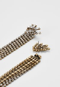 J.CREW - PAVE FEATHER CHAIN EARRINGS - Orecchini - crystal - 2