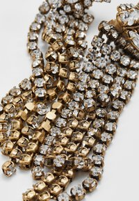 J.CREW - PAVE FEATHER CHAIN EARRINGS - Orecchini - crystal - 4