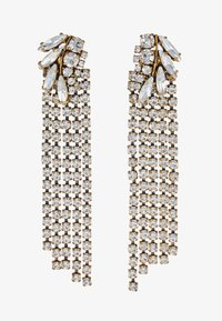 J.CREW - PAVE FEATHER CHAIN EARRINGS - Orecchini - crystal - 3
