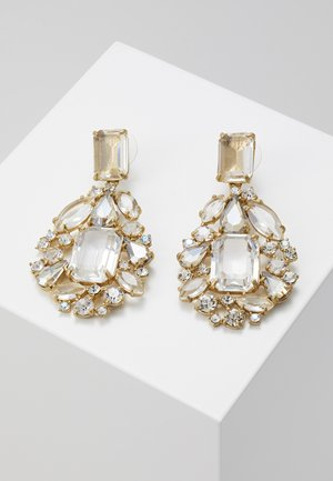 EARRING - Boucles d'oreilles - gold-coloured