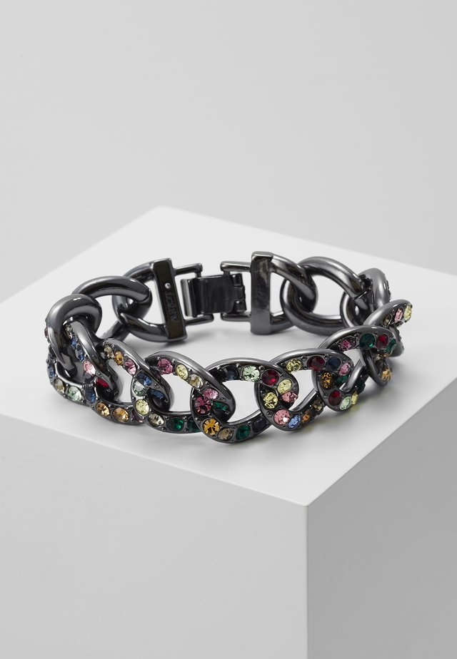 GLIZ PAVE CHAIN BRACELET - Náramek - multi color