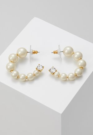 THEO HOOP EARRINGS - Boucles d'oreilles - white