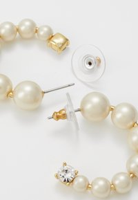 J.CREW - THEO HOOP EARRINGS - Boucles d'oreilles - white - 2