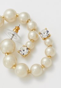J.CREW - THEO HOOP EARRINGS - Boucles d'oreilles - white - 4