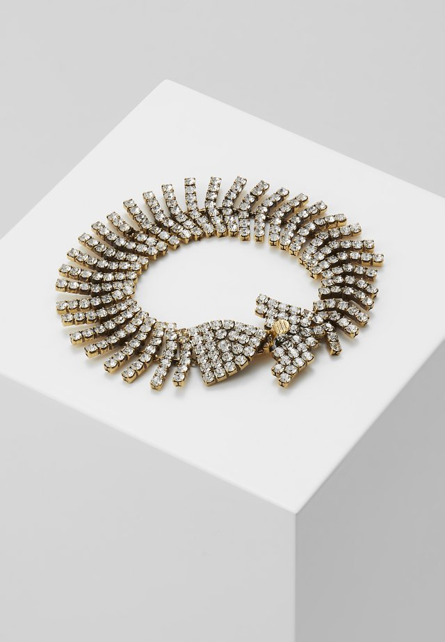 BONEFISH PAVE BRACELET - Rannekoru - gold-coloured