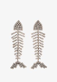J.CREW - BONEFISH PAVE EARRINGS - Earrings - silver-coloured - 1