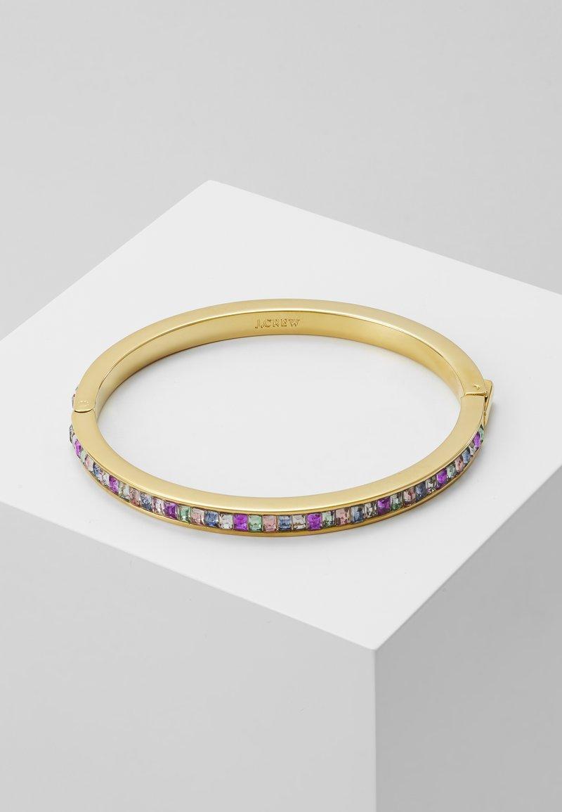 J.CREW - PAVI BAGUETTE HINGE BRACELET - Armband - multi color