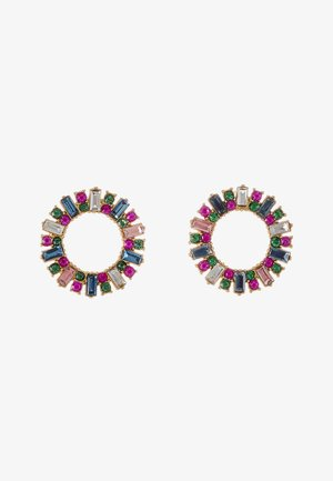 PAVI CIRCLE STUD EARRINGS - Korvakorut - multi color