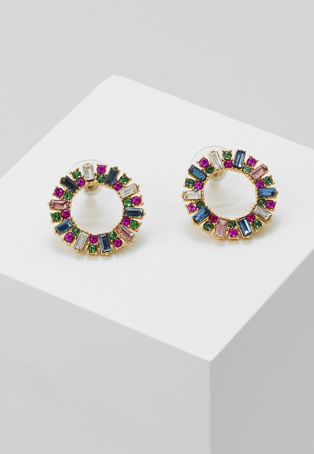 PAVI CIRCLE STUD EARRINGS - Örhänge - multi color