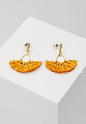 SWEEPY TASSEL EARRINGS - Boucles d'oreilles - rich saffron