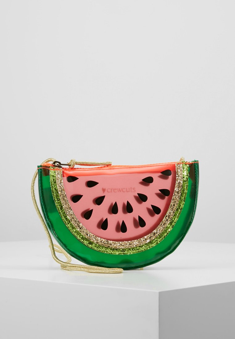 J.CREW - WATERMELON BAG - Skuldertasker - red/green