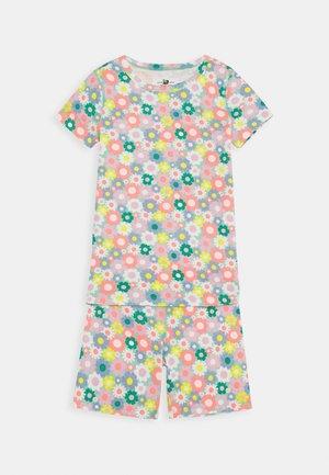 SLEEP FLORAL - Pijama - aqua multi