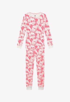 SLEEP TIGER - Pyžamová sada - neon pink ivory
