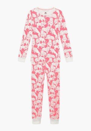 SLEEP TIGER - Pijama - neon pink ivory