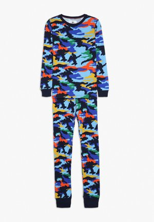 FLASHY CAMO SLEEP  - Pyžamová sada - blue/multi