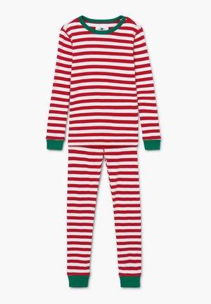 CANDY CANE STRIPE SLEEP - Pijama - ivory red
