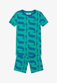J.CREW - WHALE SLEEP - Pijama - blue/green - 3