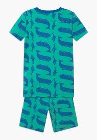 J.CREW - WHALE SLEEP - Pijama - blue/green - 1