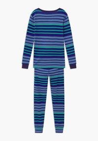 J.CREW - MULTI STRIPE SLEEP - Pijama - blue/green - 2