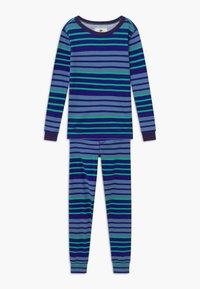 J.CREW - MULTI STRIPE SLEEP - Pijama - blue/green - 0