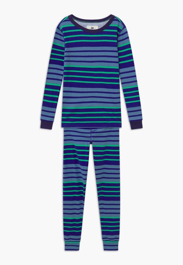 MULTI STRIPE SLEEP - Yöasusetti - blue/green