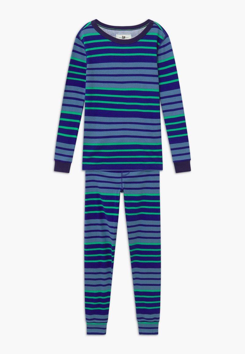 J.CREW - MULTI STRIPE SLEEP - Pijama - blue/green