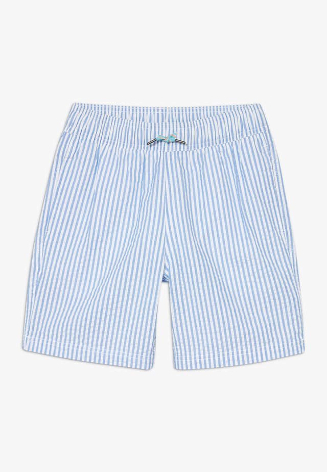 SEERSUCKER TRUNK - Plavky - sail blue