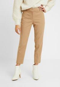 J.CREW PETITE - CAMERON PANT SEASONLESS STRETCH - Trousers - beige - 0